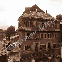 Ruines of Kashmiri Pandit Homes